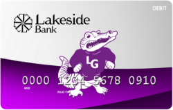 Lagrange Gators debit card image