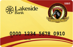 Lake Charles College Prep Trailblazers debit card image