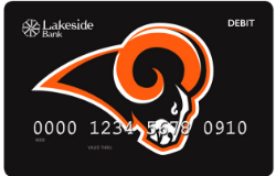 Westlake Rams debit card image